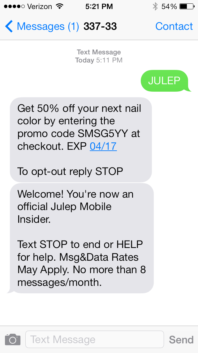 Julep At Your Fingertips – StephLemmons